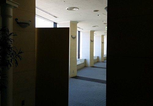 展望回廊の様子