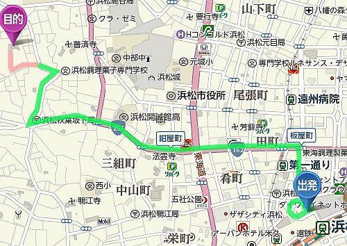浜松駅から西来院までのアクセス