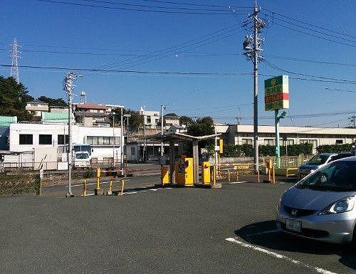 浜松医療センター前にあるコインパーキング