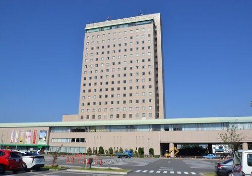 浜松城公園の前にあるホテルコンコルド