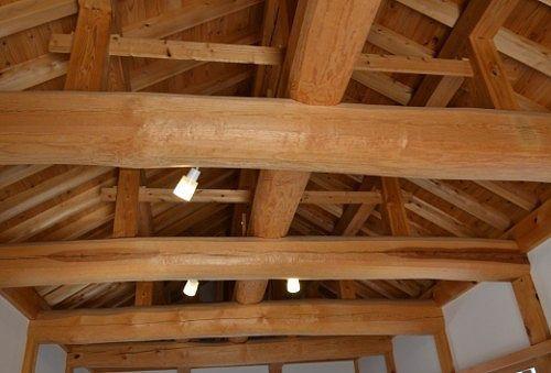 天守門の天井