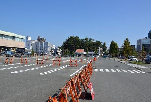 浜松城公園駐車場