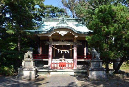 元城町東照宮拝殿