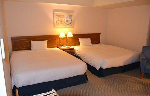 客室のベッド