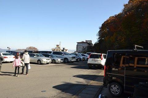 市営駐車場の様子