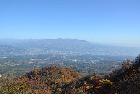 ミニ展望台からの景色
