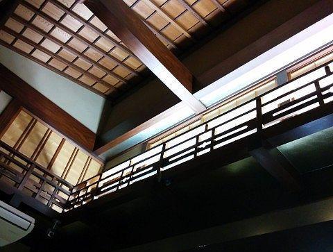 田丸屋店内の天井