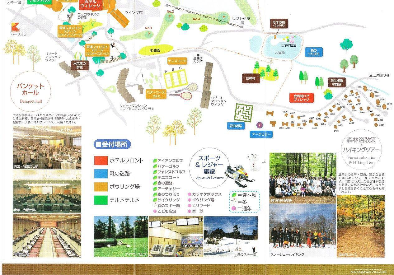 中沢ヴィレッジマップ