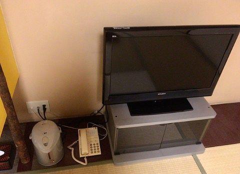 テレビとポット