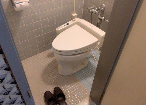 客室トイレの様子