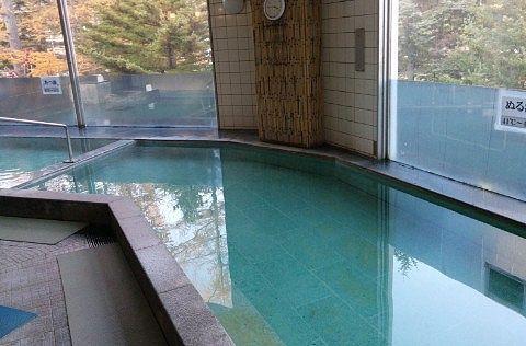 万代鉱源泉の温泉