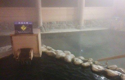 湯仙峡大浴場の様子