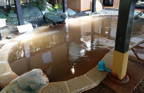 黄金の湯露天風呂