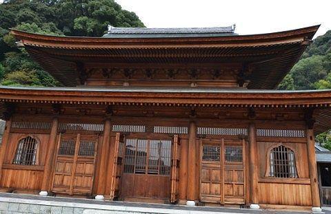 臨済寺にあった大きな建物