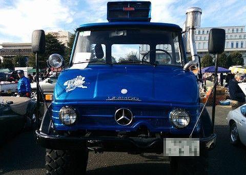 ベンツのトラック