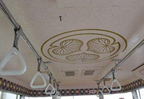 ゴンドラの天井