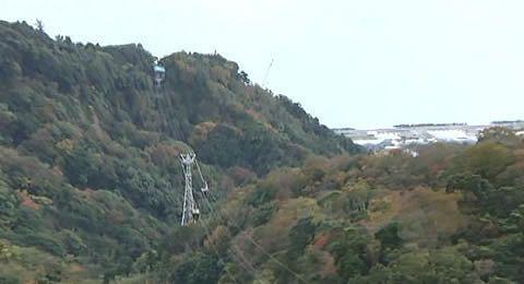 久能山と日本平ロープウェイ