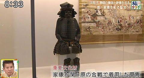 家康が関ケ原の合戦で着用した甲冑