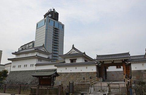 東御門と巽櫓と静岡県庁