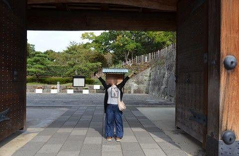 東御門の大きさ