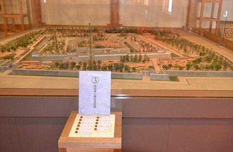 駿府城のジオラマ
