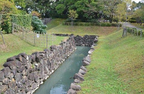 駿府城公園散策の様子
