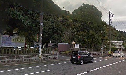 静岡浅間神社駐車場入口