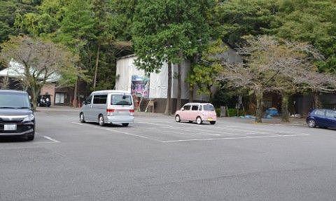 静岡浅間神社駐車場の様子