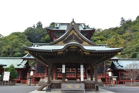 神戸神社・浅間神社の大拝殿