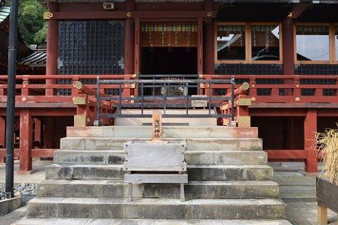 浅間神社側の様子
