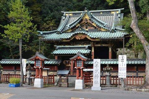 八千戈神社の様子
