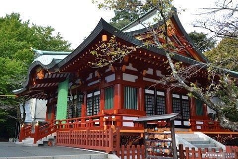 大歳御祖神社拝殿の様子