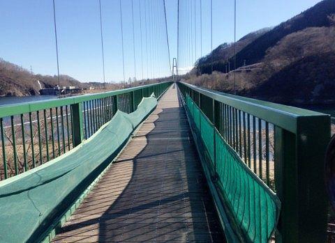 大吊橋の様子