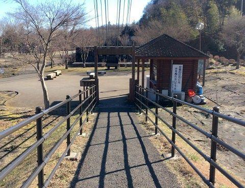 大吊橋対岸のゲートの様子