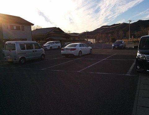 おぐら屋駐車場