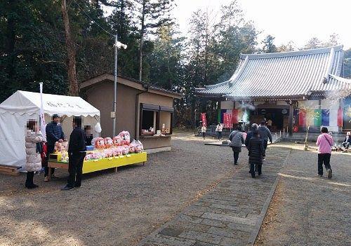 長楽寺の初詣の様子
