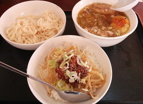 ピリ辛つけ麺