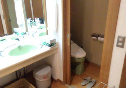 客室のトイレの様子