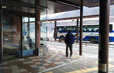JRバス到着