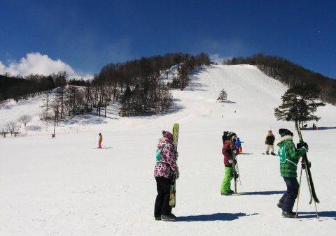 天狗山スキー場の様子