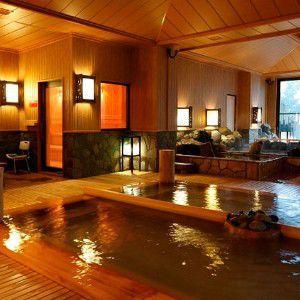 湯宿 季の庭~ときのにわの大浴場