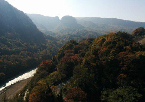 不動大橋からの眺め