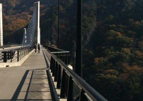 不動大橋の歩道