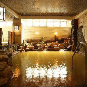 森秋旅館内湯