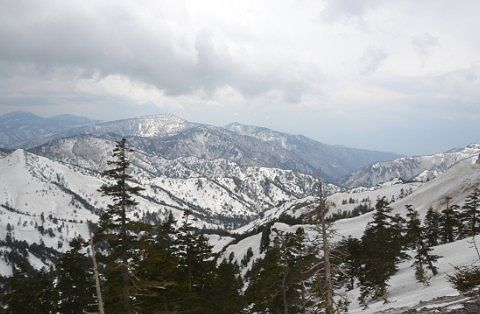 長野県側の絶景