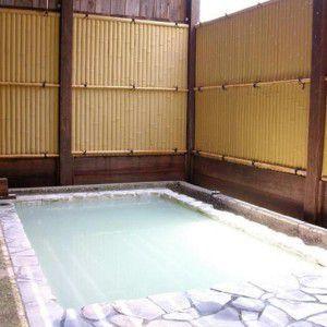 硯川ホテル露天風呂