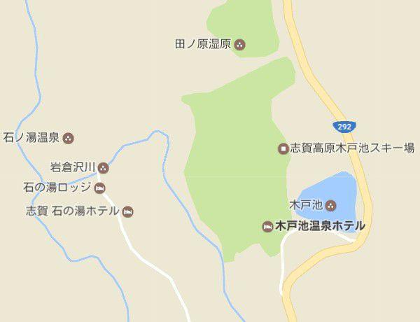 木戸池温泉ホテル地図
