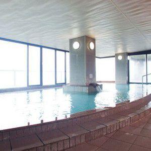 ホテル志賀サンバレー大浴場の様子
