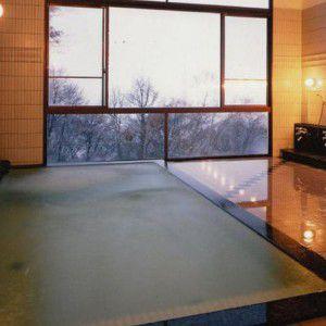 西発哺温泉ホテル温泉大浴場