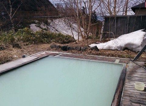 大露天風呂の様子